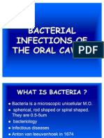 Bacterial Infections of the Oral Cavity