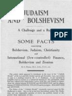 Catholic Herald - A. Homer - Judaism and Bolshevism