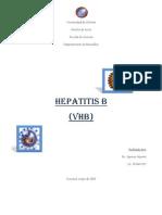 Trabajo de Hepatitis b Virologia