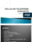 Cellular Telephone Concepts