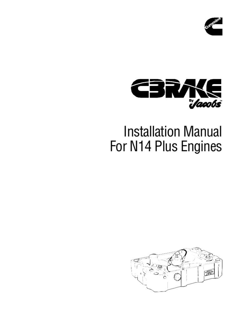 cummins n14 95 manual for n14
