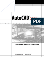 AutoCAD 2000 ActiveX and VBA Developers Guide