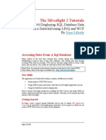 SL2 - Tutorials - 4 - Linq SQL WCF and DataGrids R2