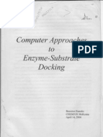 Computer Approaches to Enzyme Substrate Docking