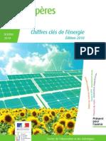 Chiffres clés de l'énergie 2010 France