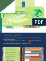 ENR dans les Parcs d' activité économique (2006)
