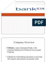 City Bank Scam