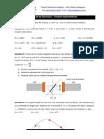 7ª Lista de Exercícios - Funções trigonométricas