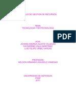 Tecnologia y Biotecnologia