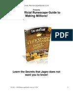 Runescape Gold Guide