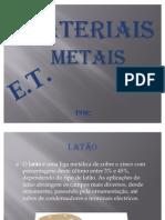 Materiais-Metal