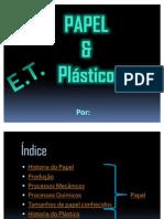 Materiais-Papel e Plástico