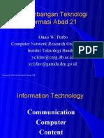 Ppt an Teknologi Informasi Abad 21-08-1996