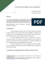 AS GARANTIAS CONSTITUCIONAIS NO ÂMBITO SOCIAL E TRABALHISTA