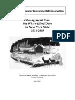 Draft Deer Plan 0611