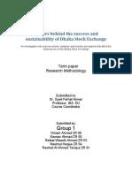 DSE Success Factors - Research Methods Term Paper