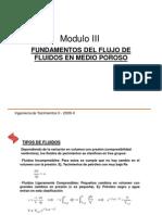 Ing. Yacimientos II - Mod III Ecuaciones de Flujo de Fluidos