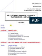 United States Army - Tactical Employment of Antiarmor Platoons and Companies
