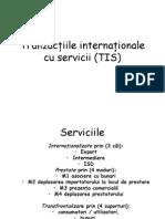 Tranzactiile Inter Nation Ale Cu Servicii TIS