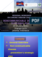 Dr. Chheang Sena - Non-communicable Diseases' Strategic Plan