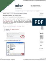 Cara Memposting PDF Di Blog Anda - Brug Kembar