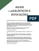 ANJOS CABALÍSTICOS E INVOCAÇÕE1