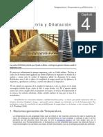 LIBRO DE CLASE - FISICA II - CAP IV - TERMOMETRÍA Y DILATACIÓN