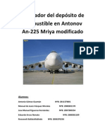 Regulador del depósito de combustible en Antonov An-225 Mriya modificado