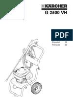 G 2500 VH 1.194-402.0 Sams.pdf Manual Hidro Kacher