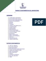Manual de Vidrarias e Equipamentos de Laborat-rio