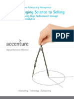 Accenture Bringing Science to Selling