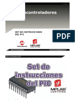 Set Instrucciones