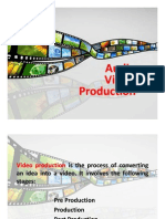AV Production - Stages