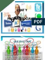 Chat y Paginas Sociales