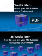 28 Weeks Later - How to Scale-out Your MS Business Intelligence Environment