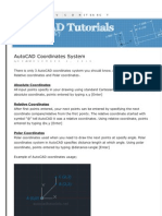 Basic Autocad Tutorial