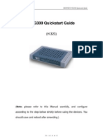 Cng300 Quick Start Guide (h323)
