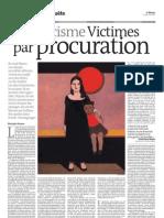 racisme Victimes par procuration - Le Monde Diplomatique du 3 juin 2011