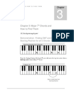 Pianopattern.com 6th Edition Ch 3 Major 7ths