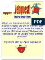Apple Webquest