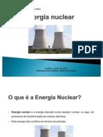 Energia Nuclear em estudo