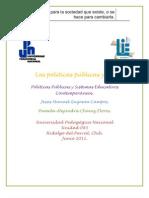 Las Politicas Publicas & Yo