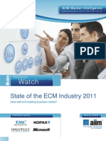 ECM State of Industry 2011