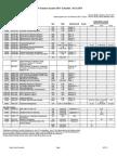 Summer 2011 Schedule as of 04.15