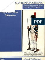 Soldiers of the Napoleonic Wars #5 - Paris and Waterloo - French Imperial Guard Infantry, June 1815