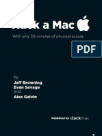 Hack A Mac – With Only 30 Seconds of Physical Access