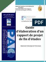 Guide Elaboration Rapport Pfe
