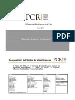 El Mercado de Microfinanzas en Peru 031209