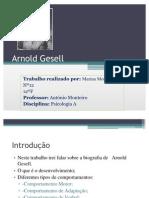 Trabalho Arnold Gesell