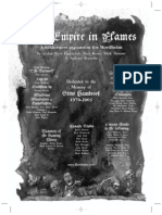 Mordheim Empire in Flames